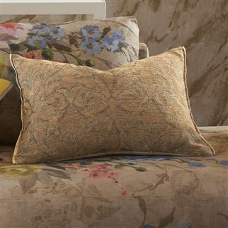 Vittoria Fresco Woven Damask Cushion | Designers Guild