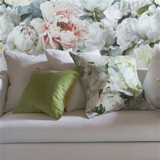 Varese Leaf Decorative Pillow  | Designers Guild