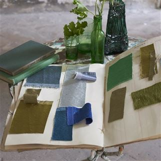 Anshu Ocean Fabric | Designers Guild Essentials