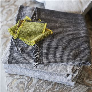 Porto Graphite Fabric | Designers Guild Essentials