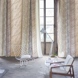 Foscari Fresco Tuberose Fabric | Designers Guild