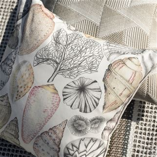 Shell Bay Outdoor Natural Decorative Pillow  | Designers Guild