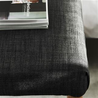 Fortezza Charcoal Stoff | Designers Guild