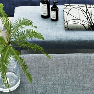Fortezza Smoke Fabric | Designers Guild