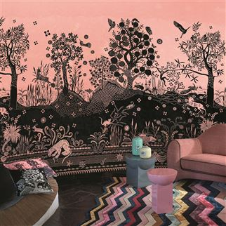 Bois Paradis Bourgeon Wallpaper | Christian Lacroix