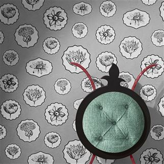Herbariae Bourgeon Wallpaper | Christian Lacroix
