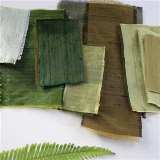 Chinon Pistachio Fabric | Designers Guild Essentials