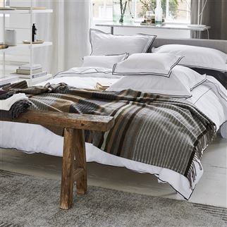 Brunswick Pewter Throw | Designers Guild