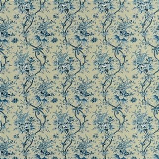 Yarmouth Floral - Slate Blue Cutting