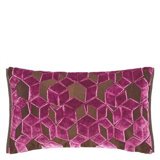 Fitzrovia Damson Decorative Pillow