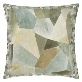 Coussin Geo Moderne Pewter
