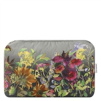 Indian Sunflower Graphite Large Washbag