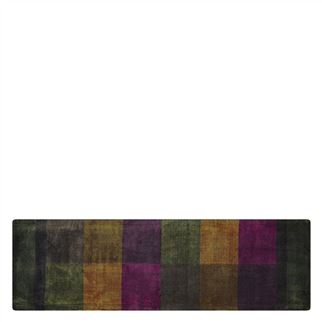 Sarang Chocolate Runner Rug