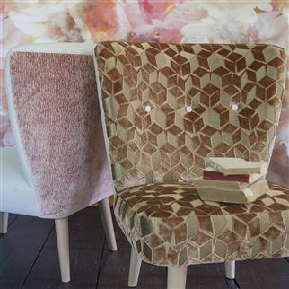 Bourlet Rose Fabric | Designers Guild