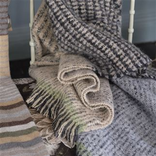 Katan Espresso Throw | Designers Guild
