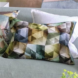 Maurier Emerald Cushion | Designers Guild