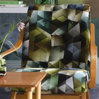 Maurier Emerald Fabric | Designers Guild