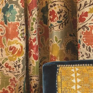 Florian Corn Fabric | William Yeoward