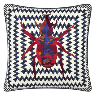 Coussin Beetle Waves Oeillet