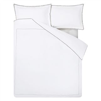 Astor Espresso & Birch Single Duvet Cover