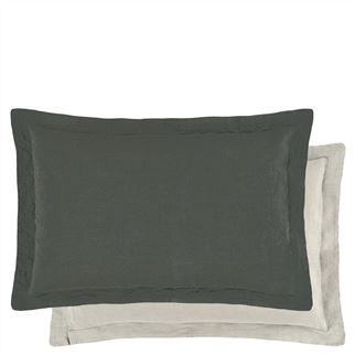 Biella Espresso & Birch Rectangular Breakfast Cushion | DG