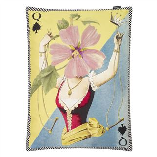 Madame Fleur Printemps Decorative Pillow
