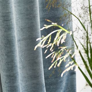 Glenville Denim Fabric | Designers Guild Essentials
