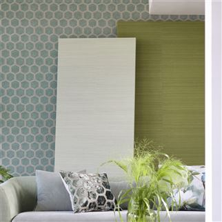 Chinon Birch Wallpaper | Designers Guild
