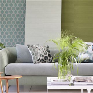 Corda Dove Fabric | Designers Guild Essentials