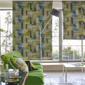 Glasshouse Celadon Fabric | Designers Guild