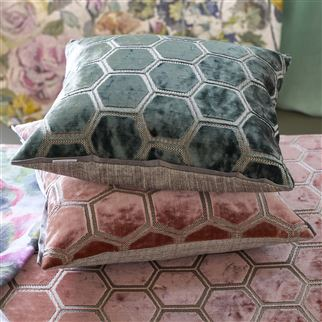 Manipur Jade Cushion | Designers Guild