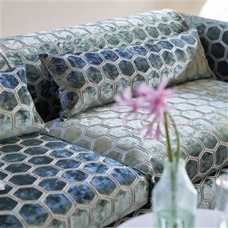 Manipur Midnight Fabric | Designers Guild