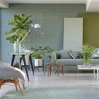 Manipur Jade Wallpaper | Designers Guild