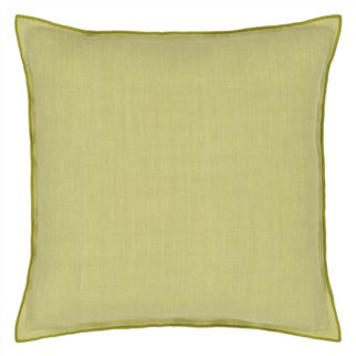 Brera Lino Pistachio & Moss Decorative Pillow