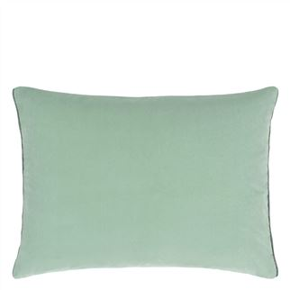 Cassia Celadon & Mist Cushion