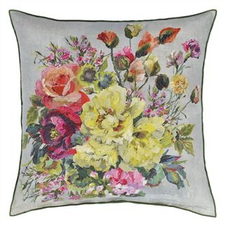 Grandiflora Rose Epice Decorative Pillow