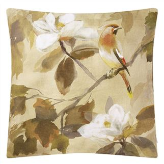 Maple Tree Sepia Decorative Pillow