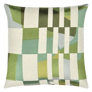 Glasshouse Celadon Cushion