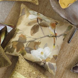 Maple Tree Sepia Cushion | Designers Guild
