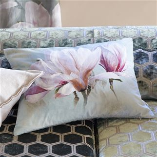 Yulan Magnolia Cushion | Designers Guild