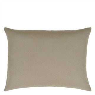 Hollyhock Ochre Cushion - Reverse