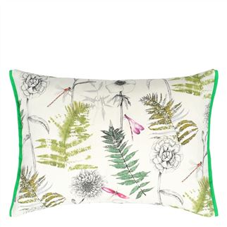Outdoor Acanthus Moss Cushion