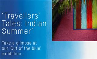 Out of the blue exhibition series | Travellers' Tales