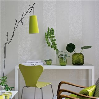 kalpana - moss wallpaper | Designers Guild
