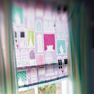 auvers - turquoise fabric | Designers Guild Kids