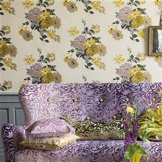 delicourt - crocus fabric | Designers Guild