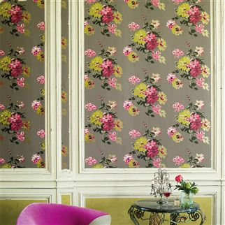 Wall Paper Designers designer wallpaper Portier Travertine Wallpaper Designers Guild
