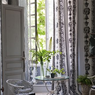 palazzetto - chartreuse fabric | Designers Guild