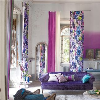troussay - cobalt trimming | Designers Guild