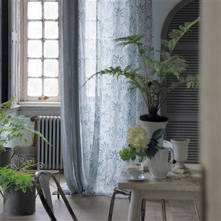 charente - slate fabric | Designers Guild